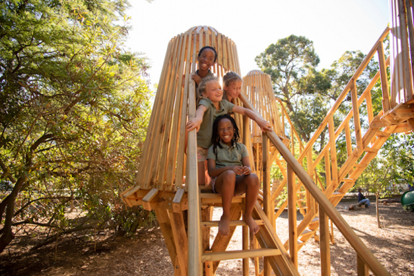 The Tree House kids club at Boschendal