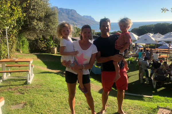Great weather in February at Camps Bay - Pile Family holiday