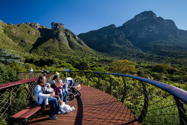Fun for all the family at Kirstenbosch Botanical Gardents, credit Adam Harrower