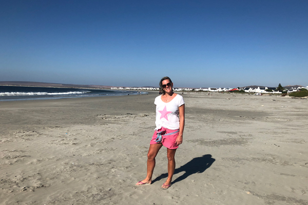 Rosanna at Paternoster beach