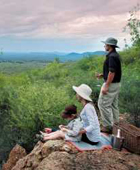 Family safaris South Africa - family on a lookout
