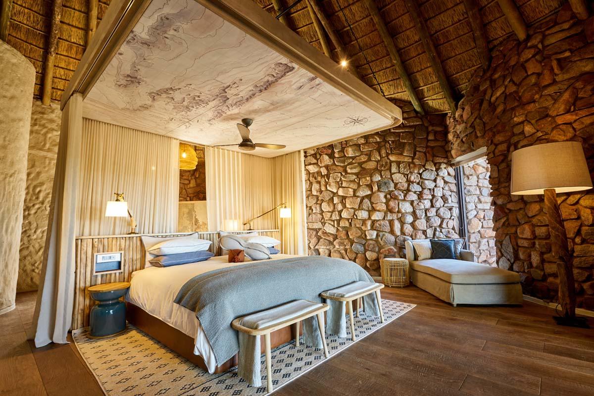 Tswalu Motse bedroom