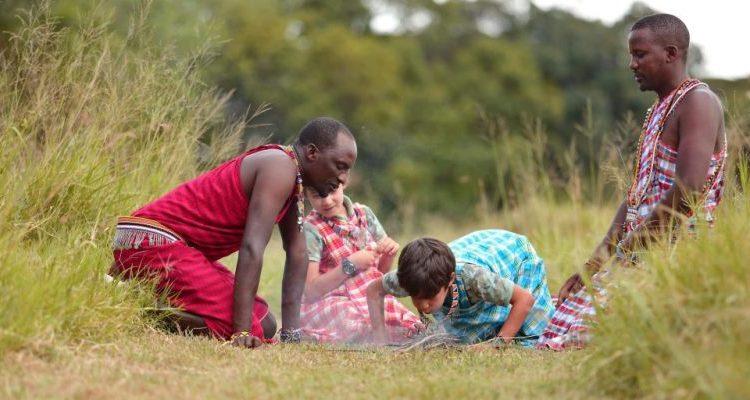 Kenyan family safari