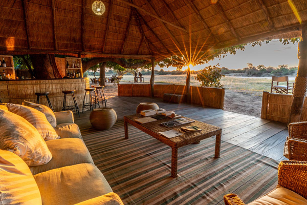 Authentic bush camp accommodation at Nsolo Camp, South Luangwa Valley National Park