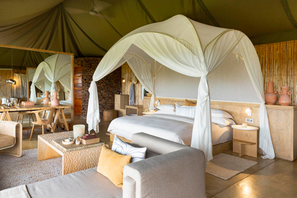 Safari luxury at Singita Faru Faru in the Serengeti