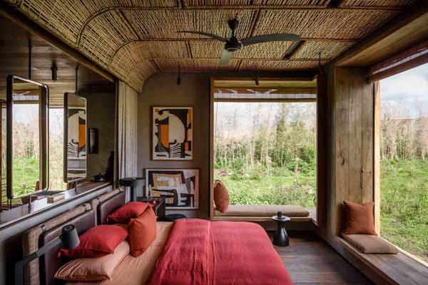 Beautifully appointed rooms at Singita Kwitonda