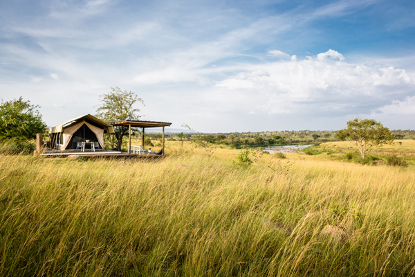 No one else for miles around, Singita Mara River Camp