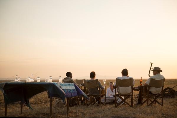 Sundowners in Katavi National Park, Chada Katavi