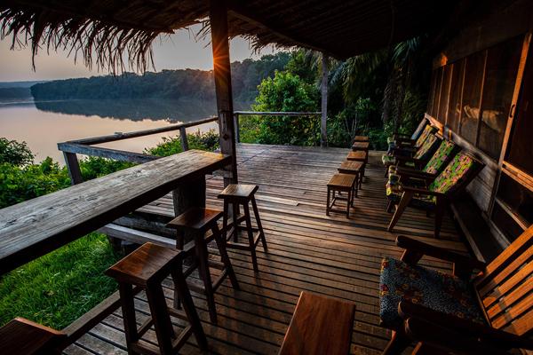 View at Sangha Lodge