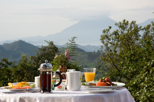 Breakfast at Clouds Lodge