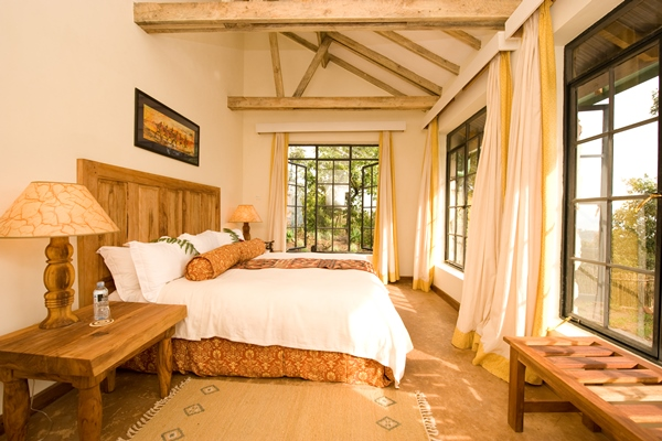 Cozy accommodation at Clouds Lodge