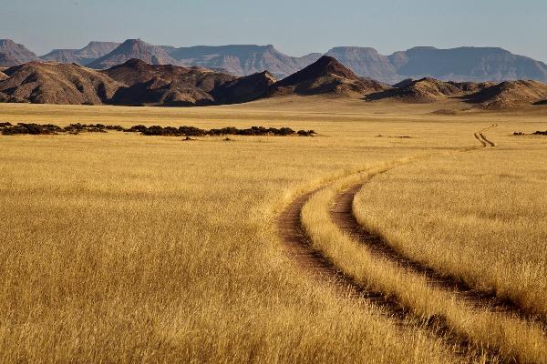 Endless vistas in Damaraland. Damaraland Camp
