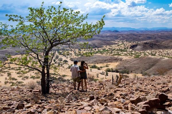 Stunning Damaraland scenery close to Huab Under Canvas