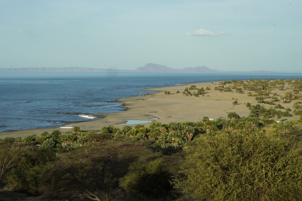 It doesn't get much wilder than this. Lake Turkana, Lobolo Camp