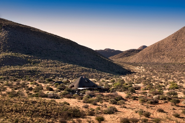 Tswalu Tarkuni sitting in its remote valley