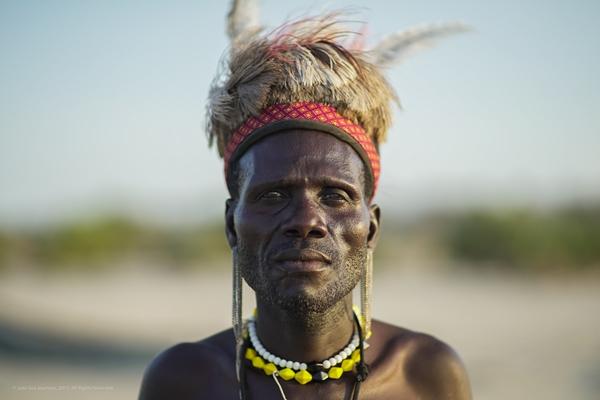 Cultural encounters at Lake Turkana. Lobolo Camp