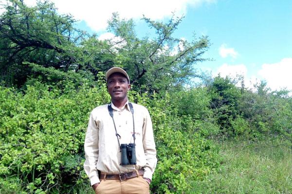 Peter Ewasa, guide at Borana