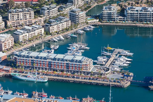 The Cape Grace, perfectly positioned for exploring Cape Town
