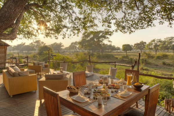 Morning views from Jackalberry Tree House, South Luangwa, Zambia.