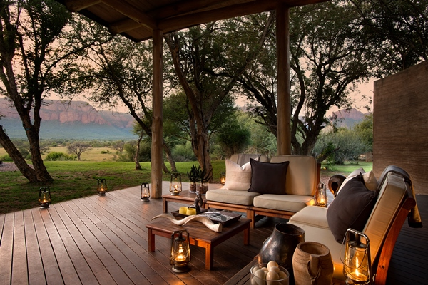 Stunning setting at Marataba Safari Lodge