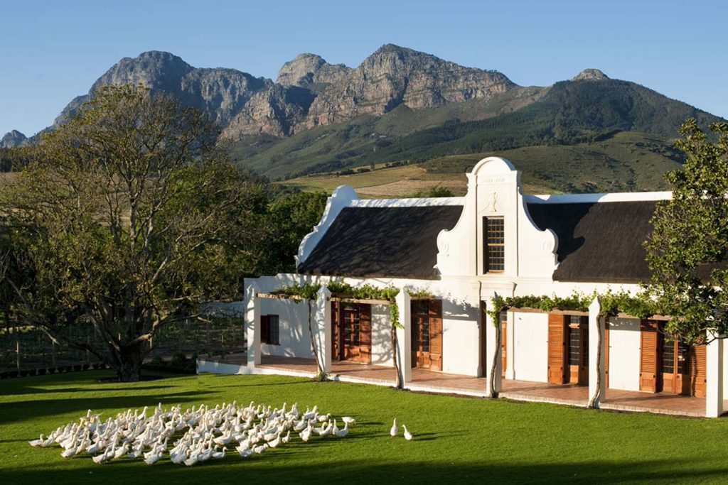 Babylonstoren at lovely base from which to explore the Cape Winelands