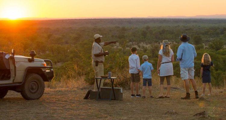 multi-generational holiday south luangwa sundowners