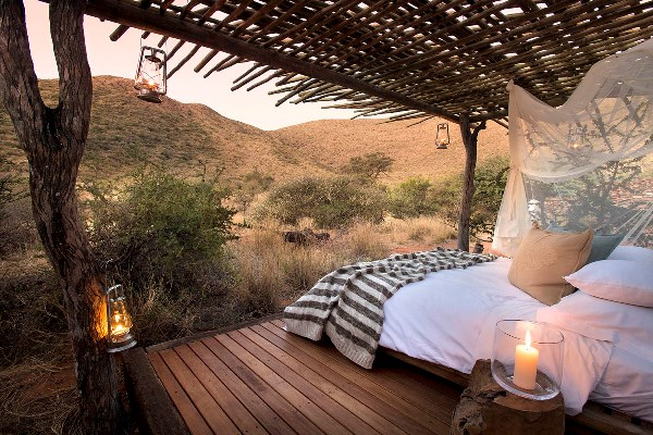 Tswalu Tarkuni, a perfect spot to enjoy a night under the Kalahari stars.