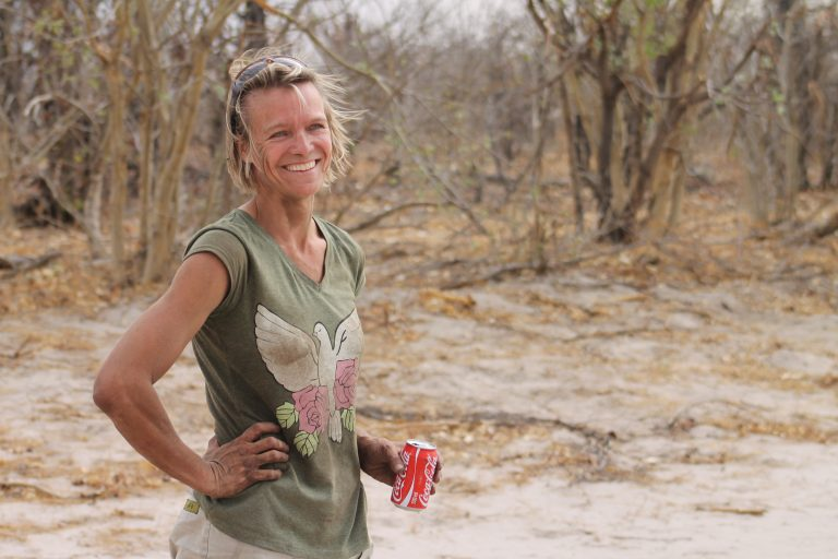 All-round super-woman, Annelies Zonjee, of Drumbeat Safaris