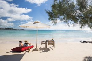 Belle Mare Plage beach on Mauritius