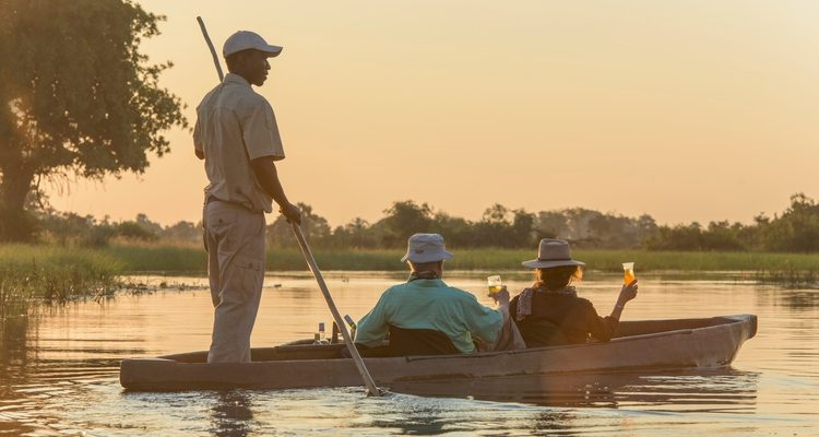 The Okavango Delta without a vehicle
