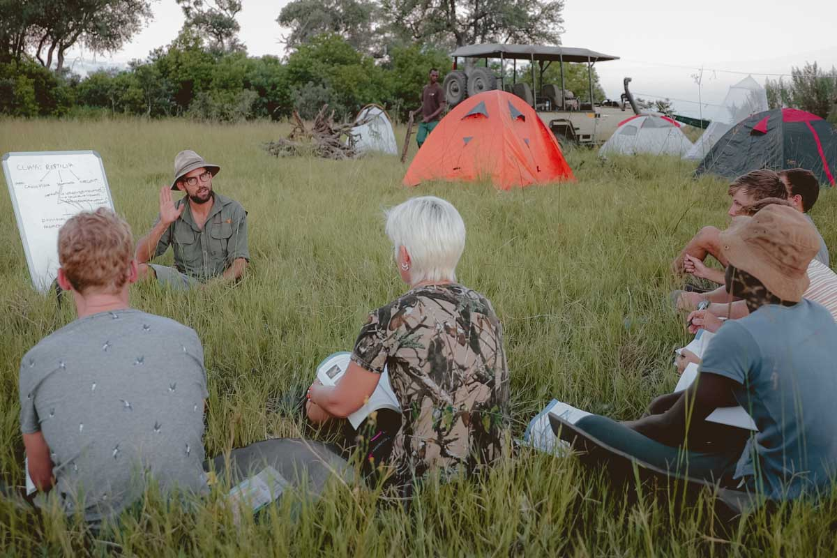 African Guide Academy, Botswana, safari guide course