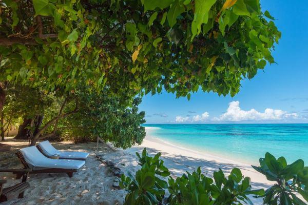 Denis Island beach