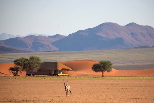 Kwessi Dune Lodge setting