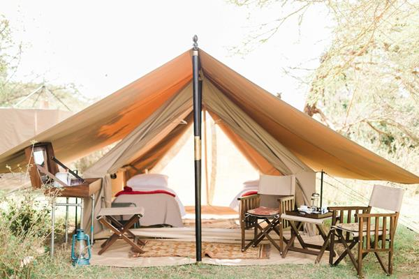 Cottar's Conservation Camp, twin tent
