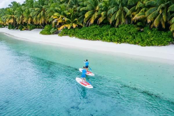 Island hopping in Seychelles